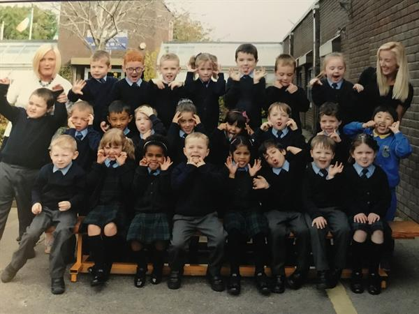 Ms. Conway's Junior Infants 2017