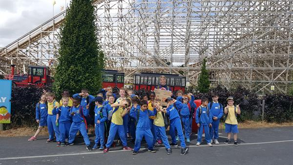 Our School Tour To Tayto Park