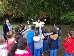 First Class visit Griffeen Park.