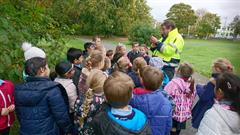 Griffeen Park visit to meet the Park Ranger