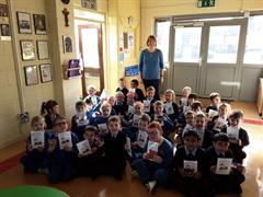 Winners of our Book Week Reading Challenge.