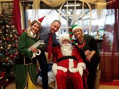 A Visit from Santa!