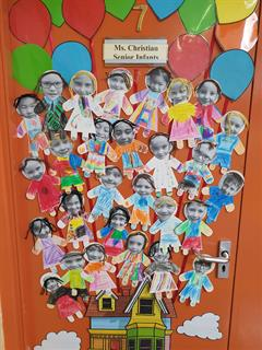 Room 7 are soaring into Senior Infants!