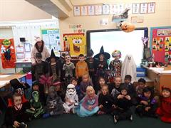 Happy Halloween from room 3!