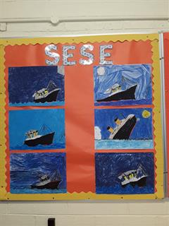We are all busy learning about the Titanic in Room 16.