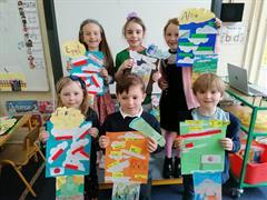 Intercultural week Room 15 Projects!